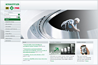 Internet Presence of the Schaeffler Group
