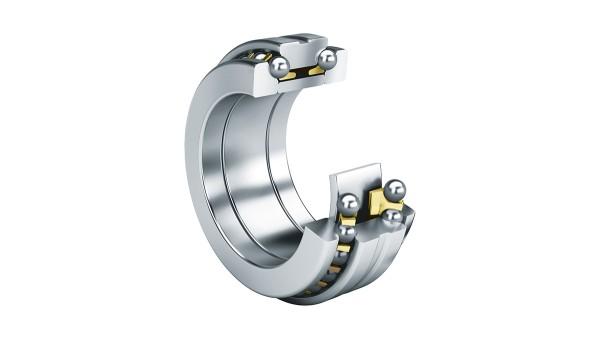 Rolling bearings and plain bearings: Axial angular contact ball bearings