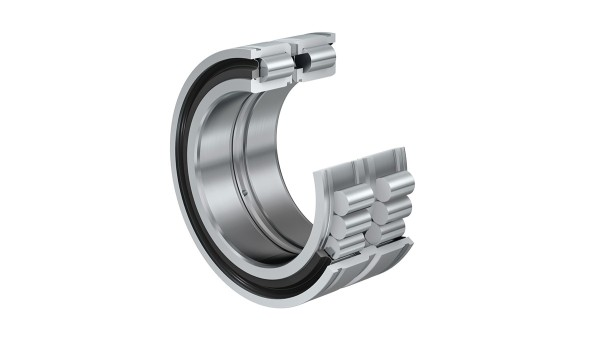 Schaeffler rolling bearings and plain bearings: Full complement cylindrical roller bearing with snap ring grooves